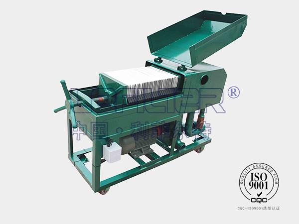 加热板框式滤油机RLY-100相关技术说明