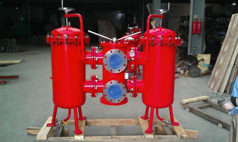 SDRLF-A3900×20P双筒大流量回油管路过滤器